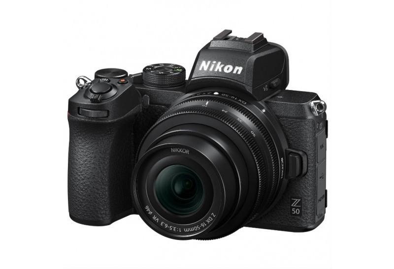 Fotocamera Nikon Z50 + Nikkor Z DX 16-50mm F/3.5-6.3 VR (ENG)
