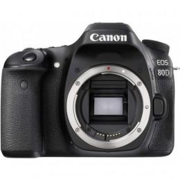 Fotocamera Digitale Reflex Canon EOS 80D Body (Solo Corpo Macchina) Black