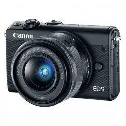 Fotocamera Mirrorless Canon EOS M100 Kit 15-45mm Black