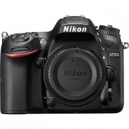 Fotocamera Digitale Reflex Nikon D7200 Body (Solo Corpo Macchina) Black
