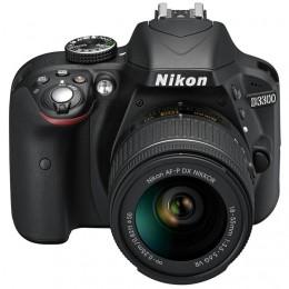 Fotocamera Digitale Reflex Nikon D3300 Kit + AF-P 18-55mm Nikon VR