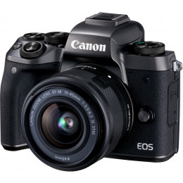 Fotocamera Mirrorless Canon EOS M5 Kit EF-M 15-45mm Black