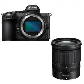 Fotocamera Mirrorless Nikon Z5 + Nikkor Z 24-70mm f/4 S (ENG)
