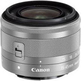 Obiettivo Canon EF-M 15-45mm F3.5-6.3 IS STM Silver
