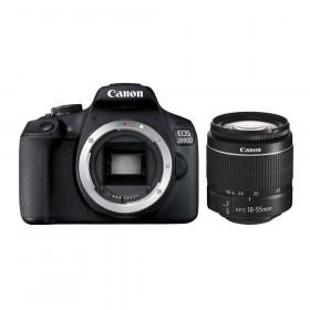 Canon EOS 2000D + obiettivo EF-S 18-55mm DC III