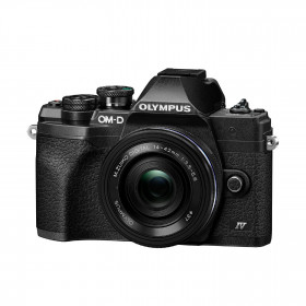 Fotocamera Mirrorless Olympus OM-D E-M10 Mark IV+ 14-42mm EZ Black