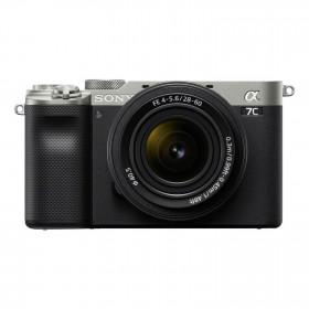 Fotocamera Mirrorless Sony A7C Silver + 28-60mm (ITA)