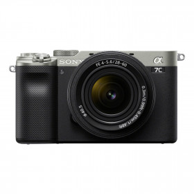 Fotocamera Mirrorless Sony A7C Silver + 28-60mm (ENG)