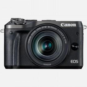 Fotocamera Mirrorless Canon EOS M6 Kit EF-M 18-150mm Black