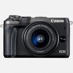 Fotocamera Mirrorless Canon EOS M6 Kit EF-M 15-45mm Black