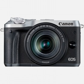 Fotocamera Mirrorless Canon EOS M6 Kit EF-M 18-150mm Silver