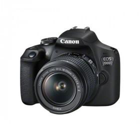 Canon EOS 2000D + obiettivo EF-S 18-55mm IS II+tahoe 150 blu