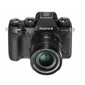 Fotocamera Mirrorless Fujifilm Finepix X-T2 + XF 18-55 Black Garanzia Fujifilm Italia