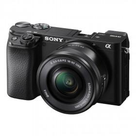 Fotocamera mirrorless Sony Alpha A6100 + 16-50mm