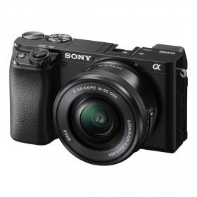 Fotocamera mirrorless Sony Alpha A6100 + 16-50mm Garanzia Italia