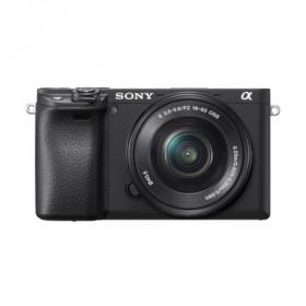 Fotocamera Mirrorless Sony Alpha 6400 + SEL-P 16-50mm f/3.5-5.6 OSS Nera Garanzia Italia