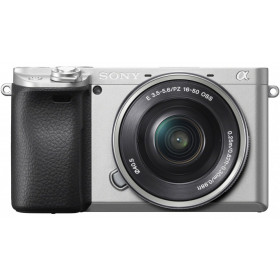 Fotocamera Mirrorless Sony A6400 Body Silver + 16-50mm F3.5-5.6 OSS