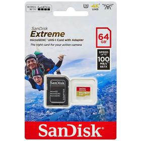 Scheda Di Memoria Extreme microSDHC 64GB Adattatore SD Incluso