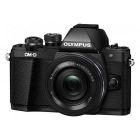 Fotocamera Mirrorless Olympus OM D E-M10 Mark II Kit 14-42mm EZ Black