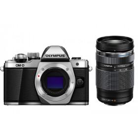 Fotocamera Mirrorless Olympus OM-D E-M10 Mark II Kit 14-150mm II Silver+NX GRIGIA