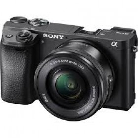 Fotocamera Mirrorless Sony A6300 ILCE-6300L Kit SEL-P 16-50mm Black