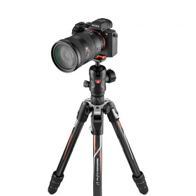 Manfrotto Befree GT in carbonio per fotocamere Sony Alpha