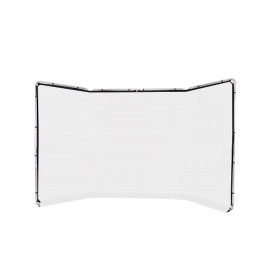 Lastolite Fondale panoramico in tessuto da 4m colore bianco