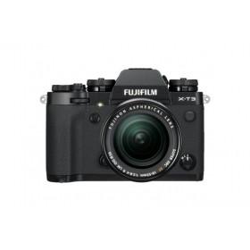 Fotocamera Mirrorless Fujifilm Finepix X-T3 Kit XF 18-55mm+55-200mm BLACK Garanzia Fujifilm Italia