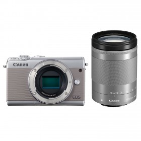 Fotocamera Mirrorless Canon EOS M100 Kit 18-150mm Grey