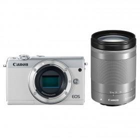 Fotocamera Mirrorless Canon EOS M100 Kit 18-150mm White