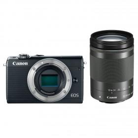 Fotocamera Mirrorless Canon EOS M100 Kit 18-150mm Black