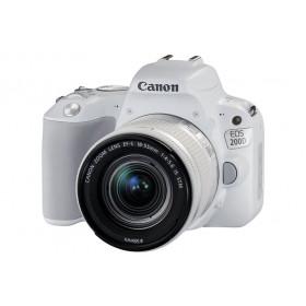Fotocamera Digitale Reflex Canon EOS 200D Kit + 18-55mm IS STM White