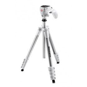 Treppiedi Manfrotto Compact Action MKCOMPACTACN-WH