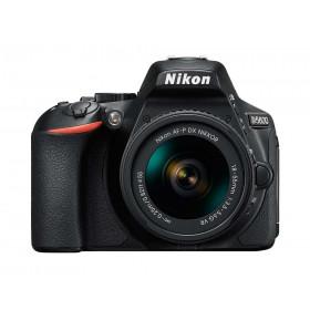 Fotocamera digitale Reflex Nikon D5600 AF-P 18-55 VR Black+tahoe 150 blu