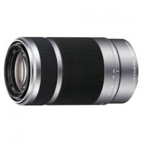 Obiettivo Sony SEL 55-210mm f/4.5-6.3 OSS (SEL55210) E-Mount Silver