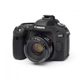 Camera Armor easyCover Silicone Canon 80D Black