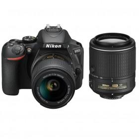 Fotocamera Digitale Reflex Nikon D5600 Kit AF-P 18-55 VR + AF-S 55-200mm VR II