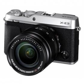 Fotocamera Mirrorless FujiFilm X-E3 Silver + XF 18-55mm f/2.8-4 R LM OIS Garanzia Fujifilm Italia