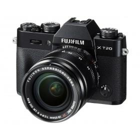 Fotocamera Mirrorless Fujifilm Finepix X-T20 Kit 18-55mm Black Garanzia Fujifilm Italia