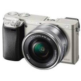 Fotocamera Mirrorless Sony A6000 ILCE-6000L Kit SEL-P 16-50mm Silver