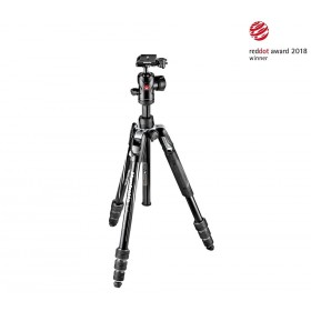 Manfrotto Befree Advanced nero Alluminio Twist MKBFRTA4BK-BH