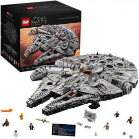 Giocattoli da costruzione Star Wars Millenium Falcon Ultimate Collector Series