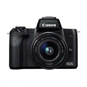 Canon EOS M50 nera + Obiettivo EF-M 15-45mm IS STM