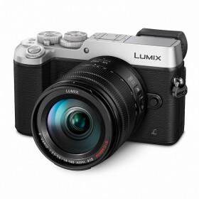 Fotocamera Mirrorless Panasonic Lumix DMC-GX80 Kit 14-140mm Silver