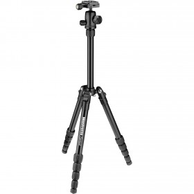 Manfrotto Treppiede Element Traveller Piccolo Nero Alluminio Twist MKELES5BK-BH