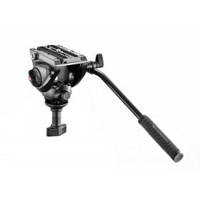 Manfrotto MVH500A Testa video con semisfera da 60mm, 1 leva fissa