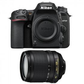 Fotocamera Digitale Reflex Nikon D7500 Kit + 18-105mm Nikon VR