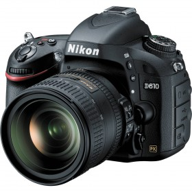 Fotocamera Digitale Reflex Nikon D610 Kit + 24-85mm Nikon VR