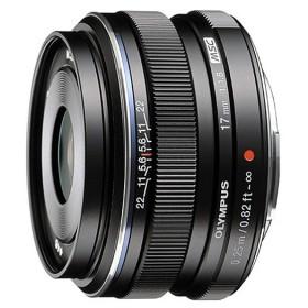 Olympus M.ZUIKO 17mm EW- M1718 F1.8 (Black)