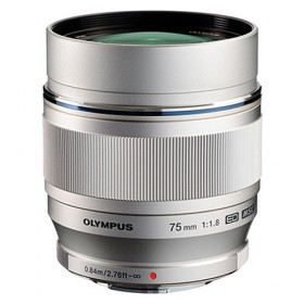 Olympus M.ZUIKO DIGITAL ED 75mm F1.8 (Silver)